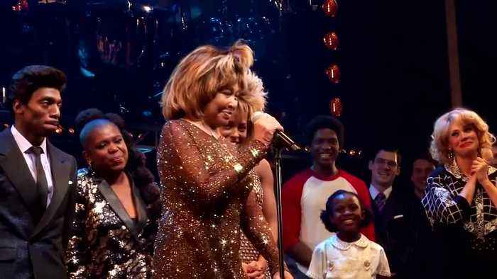Tina Turner attends opening night of Broadway musical based on her life