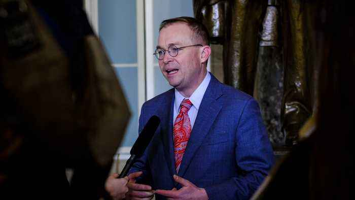 House Committees Subpoena Mulvaney As Part Of Impeachment Inquiry