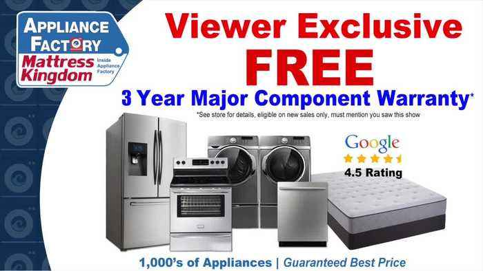 Appliance Factory And Mattress Kingdom- Black Friday Sale