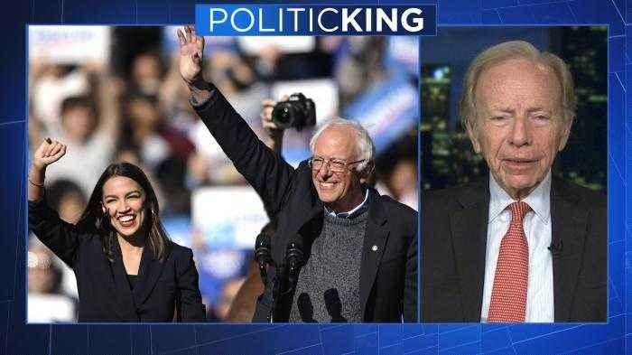 Joe Lieberman says he's worried about Sanders' and Warren's chances in general election