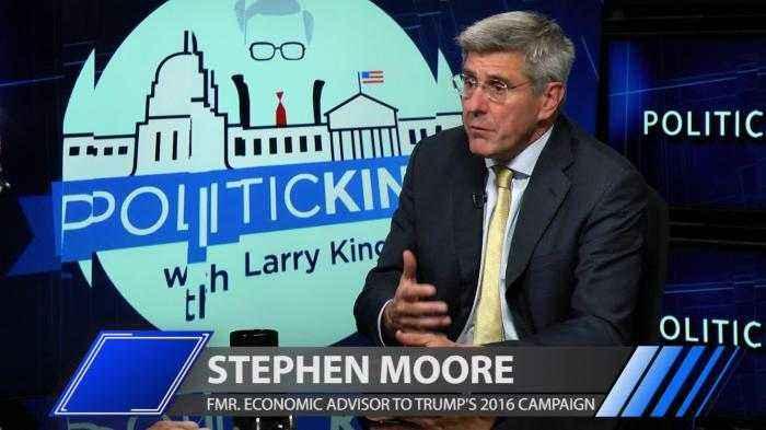 Stephen Moore discusses US economy under Donald Trump