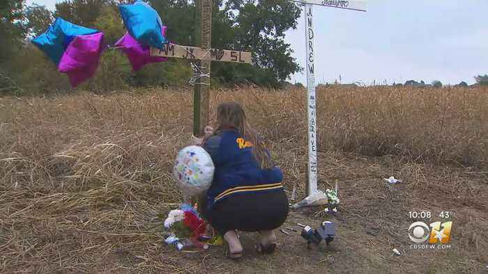 Students Gather At Crash Site To Mourn Loss Of 4 Classmates In Nevada