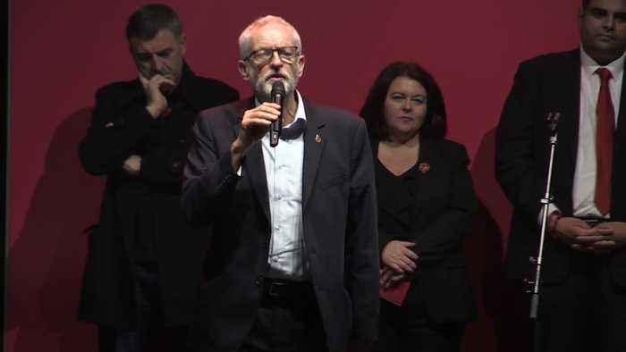Corbyn addresses Manchester rally