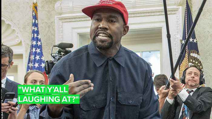 Kanye West says he's 'walking' for president in 2024