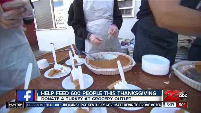 Help feed 600 people this Thanksgiving