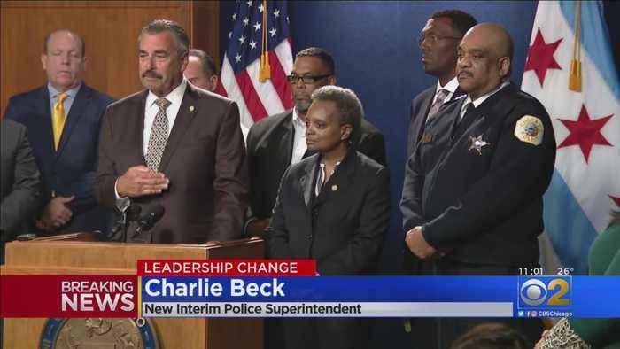 Charlie Beck Interim Chicago Police Superintendent