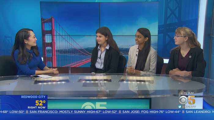 3 Young Bay Area Innovators Take Top Prizes In Nationwide STEM Competition