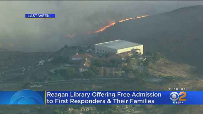 Reagan Library Offering Free Admission To Firefighters, Police Officers This Weekend