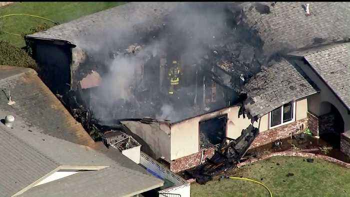 NTSB Helping Investigate Deadly Plane Crash Into SoCal Home; Pilot Still Unidentified