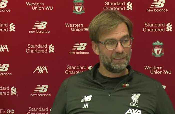 Klopp wants even the hot dogs salesperson in 'top shape' for City