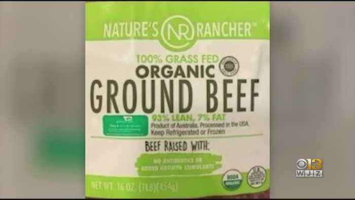 130,000 Pounds Of Ground Beef Recalled In Maryland, Several Other States