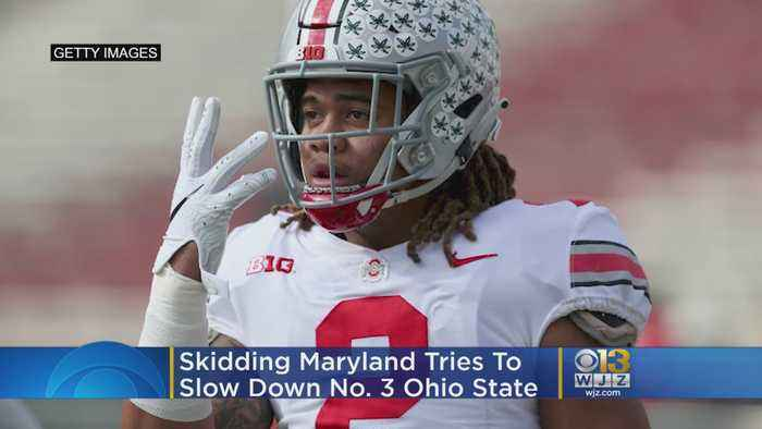 Skidding Maryland Tries To Slow Down No. 3 Ohio State