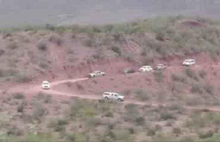 Ambush victims' families visit Mexico massacre site