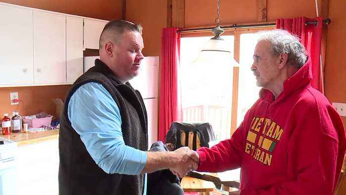 Veterans Helping Veterans After Facebook Post Asking for Electrical Work