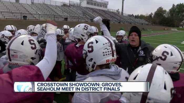 Crosstown showdown: Groves. Seaholm meet in District Finals