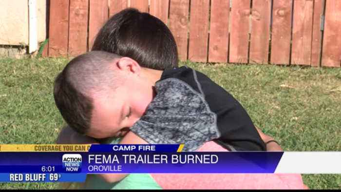 Camp Fire survivor faces another tragedy, FEMA trailer burned