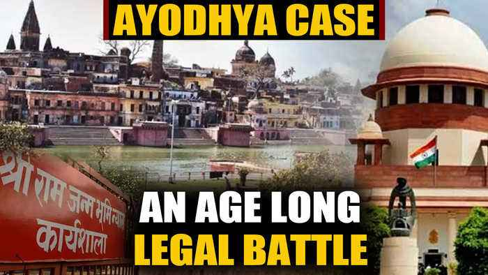 How the Ayodhya dispute case unfolded through the years: A lookback | OneIndia News