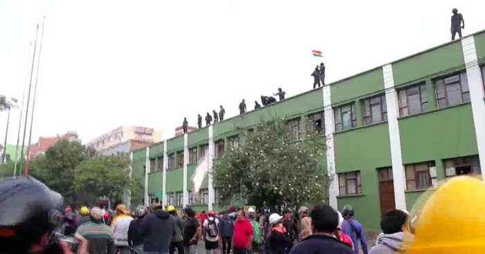 Denuncian intento de golpe de Estado contra Evo Morales