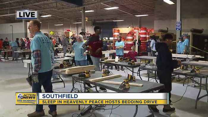 Sleep in heavenly peace hosts bedding drive in Southfield