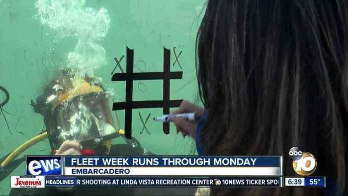 Fleet Week brings military experiences to San Diego
