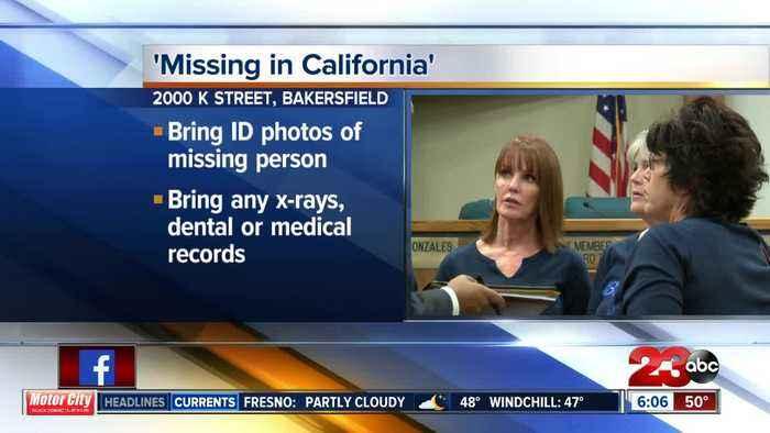 KCSO hosting 'Missing in California' event Saturday