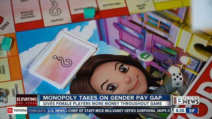 Monopoly takes on gender pay gap