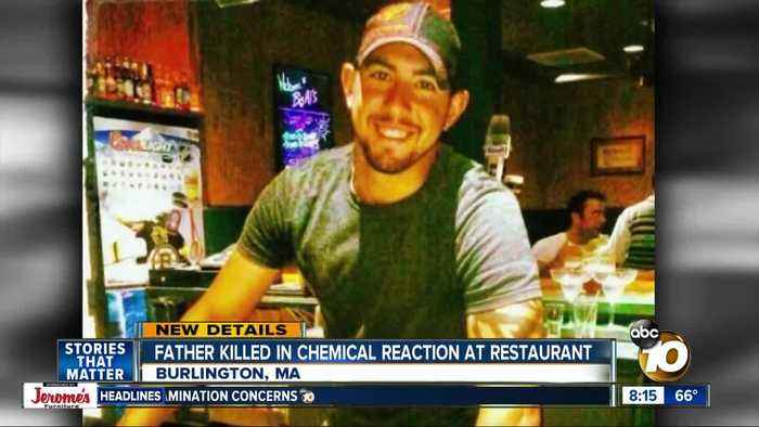 Father killed in chemical reaction at Buffalo Wild Wings