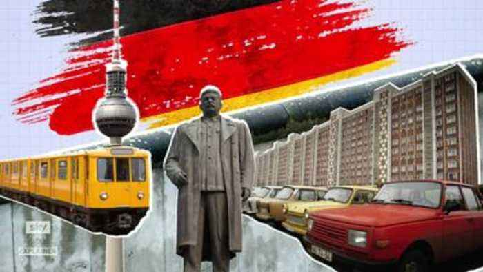 The invisible wall that still divides Germany