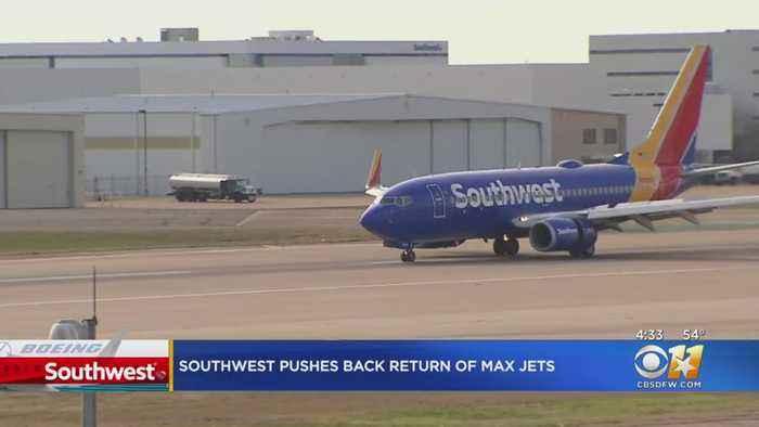 Southwest Pushes Back Return Of Max Jets