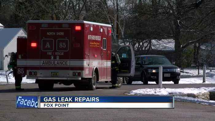 A gas leak caused local businesses to evacuate on Friday