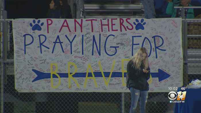 Sharing Support For Community Mourning Loss Of 4 Students In Crash