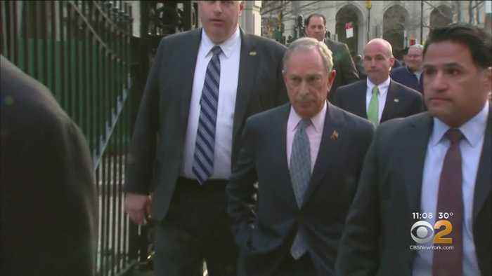 Michael Bloomberg Files To Run For President
