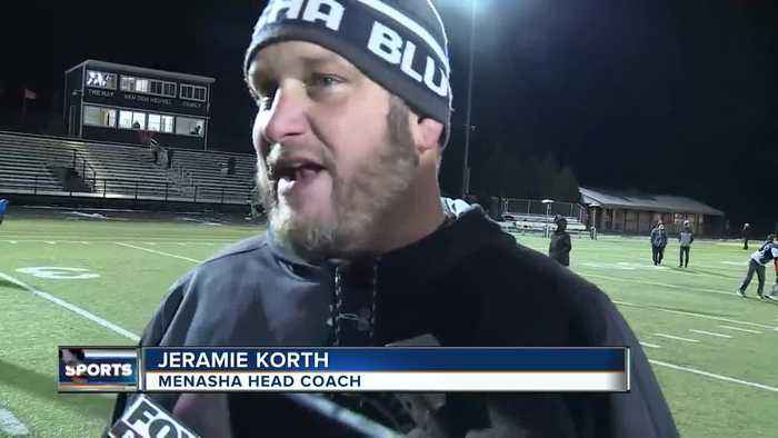 Chancellor Johnson reports after Menasha upsets West De Pere