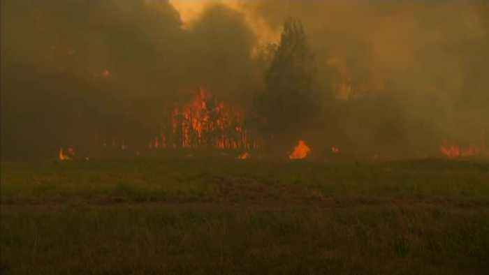 150 homes destroyed in New South Wales inferno