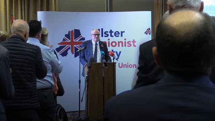 UUP's new leader Steve Aiken calls on party to dismiss Boris Johnson's 'sell-out deal'