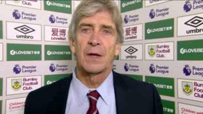 Burnley 3-0 West Ham - Pellegrini reaction