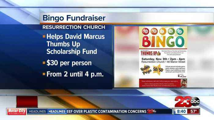 Bingo fundraiser to benefit David Marcus Thumbs Up Scholarship Foundation