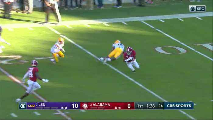 11/09/2019 LSU vs Alabama Football Highlights