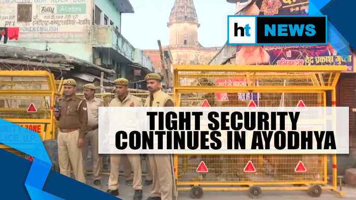 Ayodhya Verdict | No untoward incident reported in Ayodhya, tight security continues
