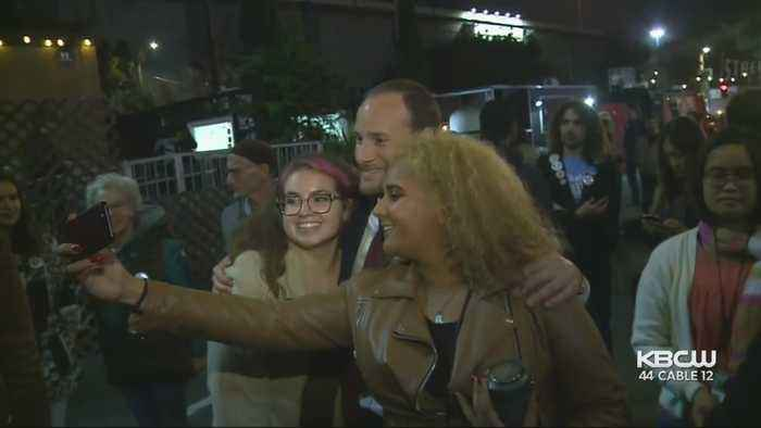 Boudin Celebrates Victory After Winning Race For SF District Attorney