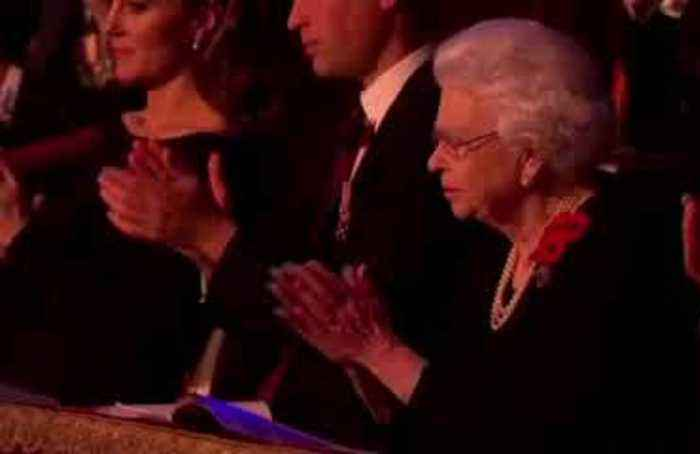 British royals attend Remembrance event