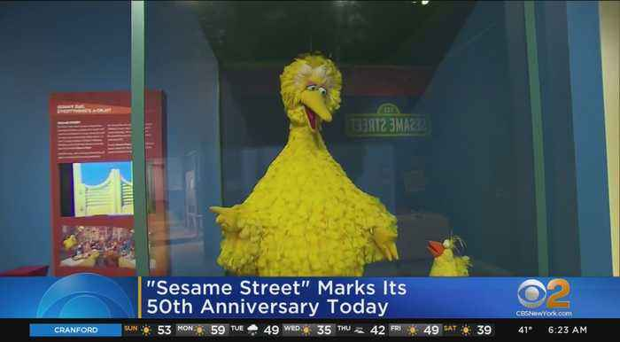 'Sesame Street' Marks Its 50th Anniversary