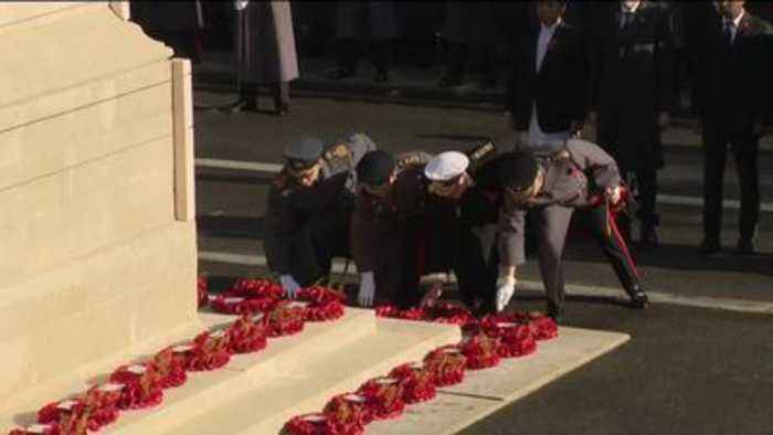A look at today's Remembrance Sunday events