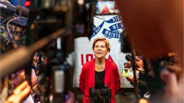 Elizabeth Warren: From Nearly Broke Midwestern A Top Democratic Candidate