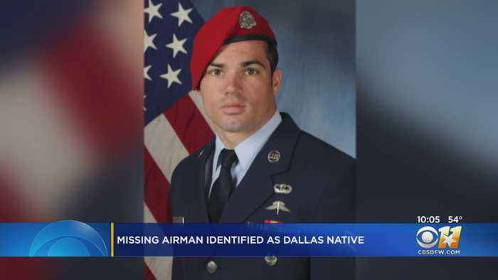 Missing Airman Identified As Dallas Native