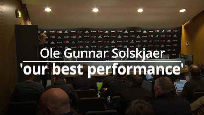 Ole Gunnar Solskjaer: it was the best performance of the season
