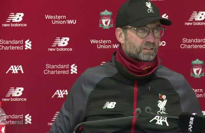Klopp says Liverpool not feeling pressure of title race
