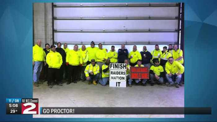Community shows support for Proctor