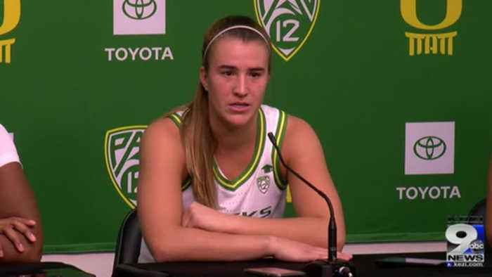 Web Extra: Oregon women's basketball recaps win over Team USA (11/9/19)