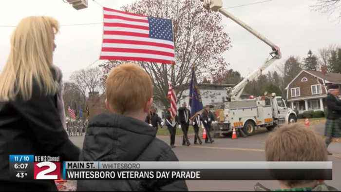 Whitesboro holds annual veterans day parade